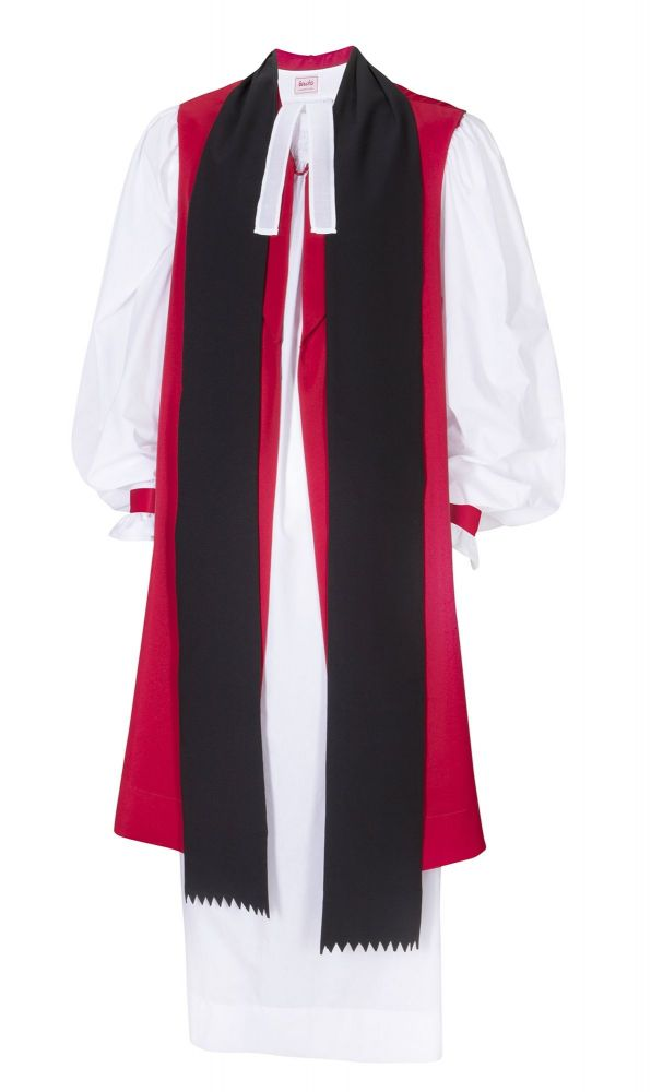 rochet_in_polly_cotton_with_red_black_strips_frilled_cuffs_with_preaching_scarf_linen_ministers_band_0001.jpg